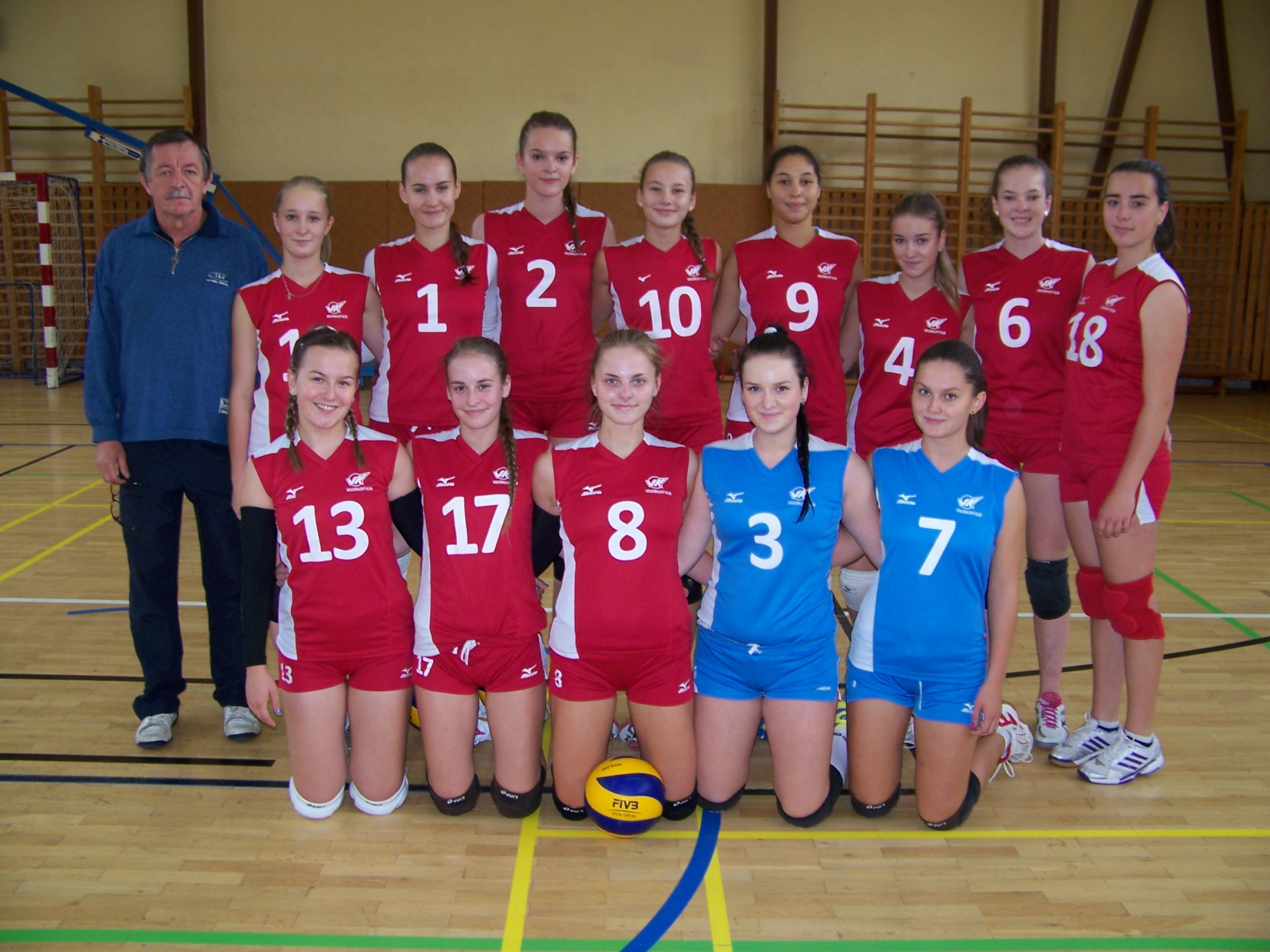 4842eb435 Volejbalový klub Spišská Nová Ves - M-SR kadetky, 1.-5.kolo, 4.10 ...